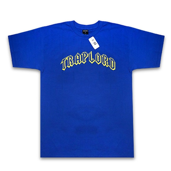 TRAP LORD Tシャツ-ARCHED SS TEE BLUE-