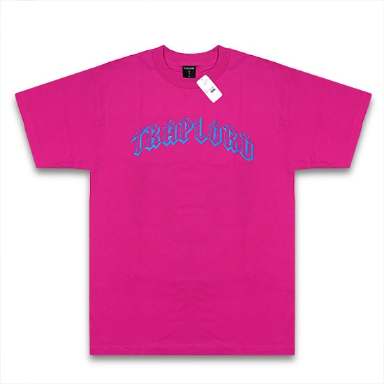 TRAP LORD Tシャツ-ARCHED SS TEE PINK-