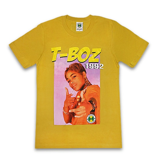 Cross Colours Tシャツ -90s LEGENDS-TBOYZ 1992 S/S / YELLOW-