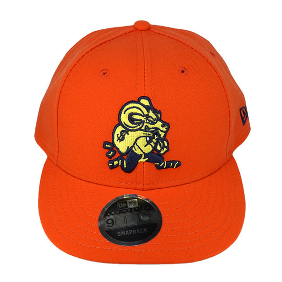 NEW ERA×MIKE WILL MADE IT スナップバック -YUGO LOW PROFILE / ORANGE-