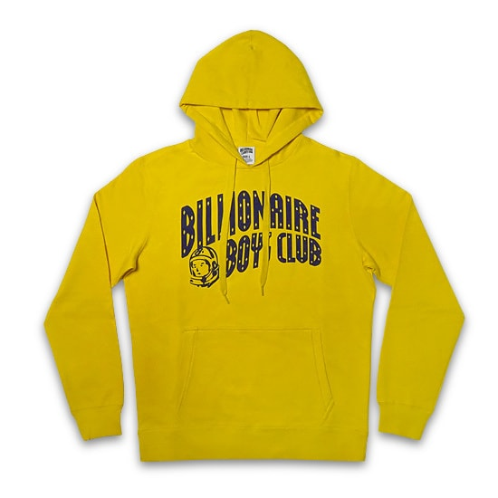 BILLIONAIRE BOYS CLUB パーカー -BB ARCH PULLOVER HOODIE/YELLOW-