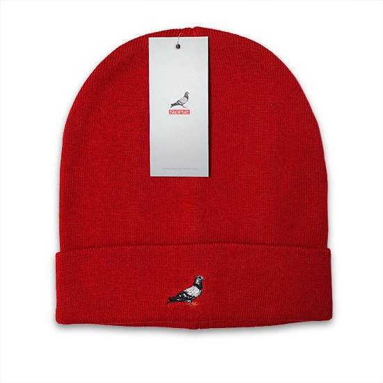 STAPLE ニットキャップ - PIGEON BEANIE / RED -