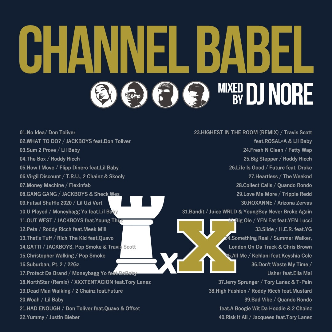DJ NORE / CHANNEL BABEL10
