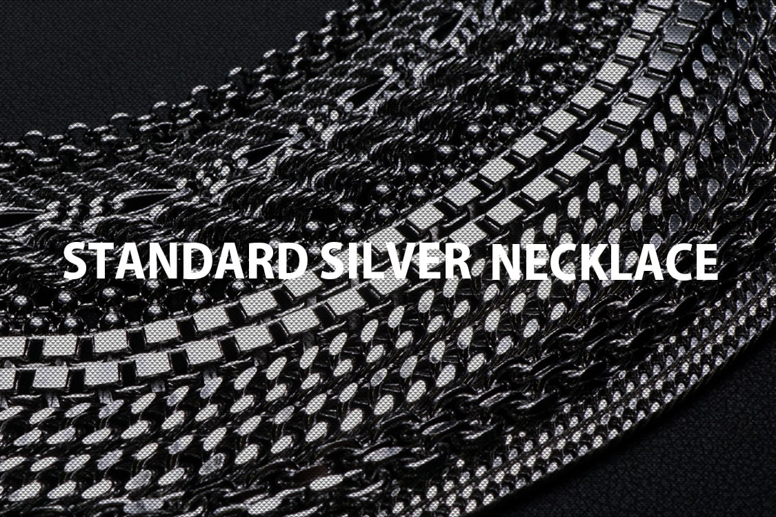 standard silver nacklace