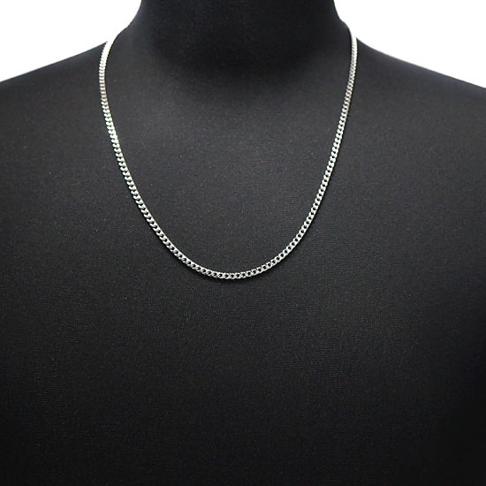 Silver 925 ネックレス 喜平 3mm [60cm]