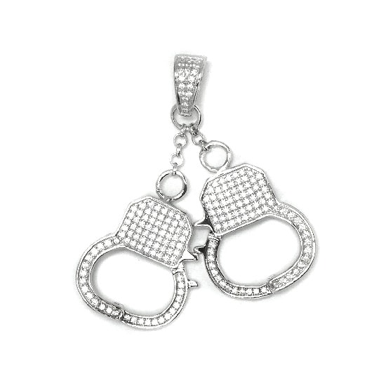 Silver トップ - Handcuffs -