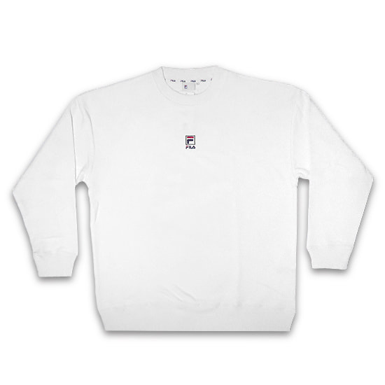 FILA トレーナー - CREW NECK SHIRT / WHITE -