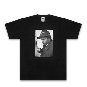 Cross Colours Tシャツ -EAZY E PROFILE PHOTO REAL T-SHIRT / BLACK-