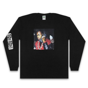 Cross Colours ロンT -90S LEGEND TOO SHORT L/S T-SHIRT / BLACK-