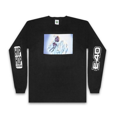 Cross Colours ロンT -90S LEGEND E40 FUR L/S T-SHIRT / BLACK-