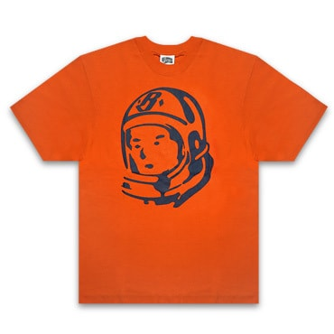 BILLIONAIRE BOYS CLUB Tシャツ -BB RIDER HELMET T-SHIRT / ORANGE -