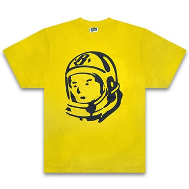 BILLIONAIRE BOYS CLUB Tシャツ -BB RIDER HELMET T-SHIRT / SUNFLOWER -