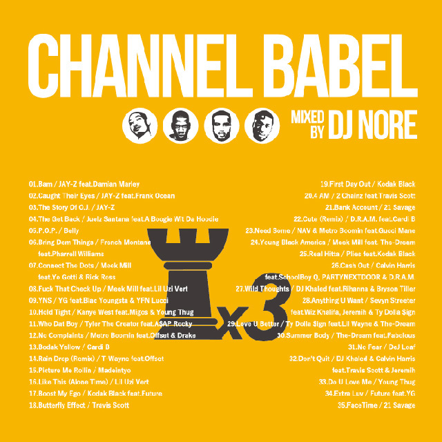 DJ NORE / CHANNEL BABEL3