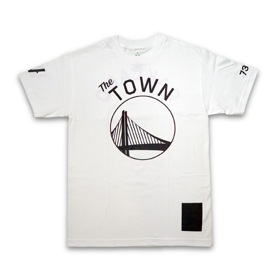 BLACK SCALE Tシャツ -WARRIORS COLLECTION TOWN T-SHIRT / WHITE-