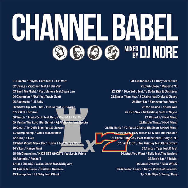 DJ NORE / CHANNEL BABEL7