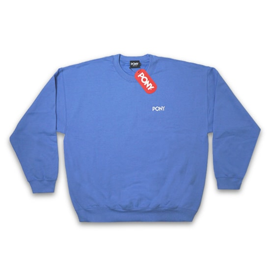 PONY トレーナー - ATHLETIC SWEAT SHIRT / SKY BLUE -