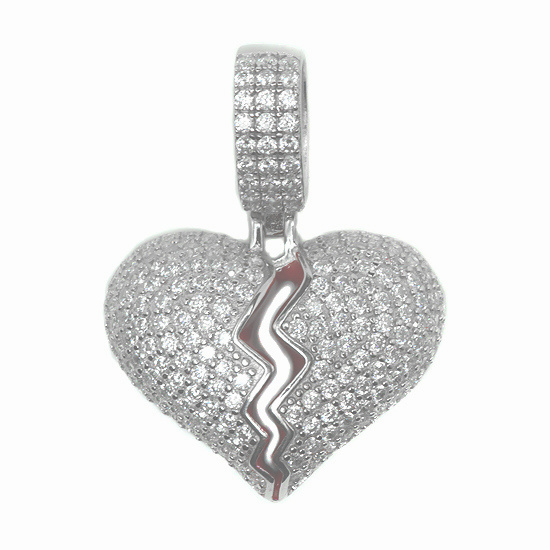 Silver トップ - HEART -