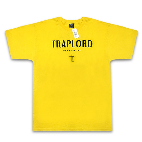 TRAP LORD Tシャツ-KEYS SS TEE YELLOW-