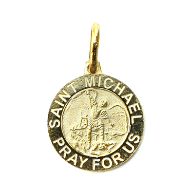 Silver トップ - SAINT MICHAEL PRAY FOR US -
