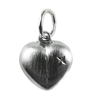 Silver トップ- Heart -