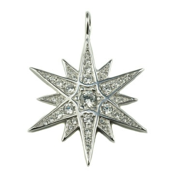 Silver トップ - Star-
