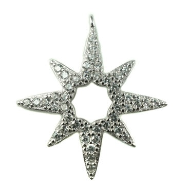 Silver トップ  - Star -