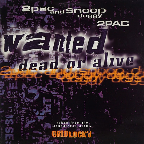 2Pac & Snoop Doggy Dogg // Wanted Dead Or Alive