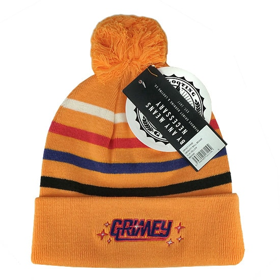 GRMY ニットキャップ -UBIQUITY BALL BEANIE / YELLOW-