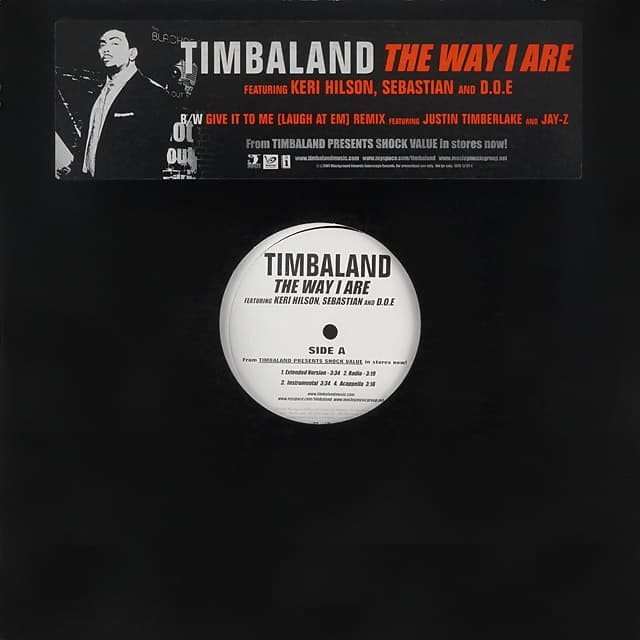 Timbaland // The Way I Are / Give It To Me