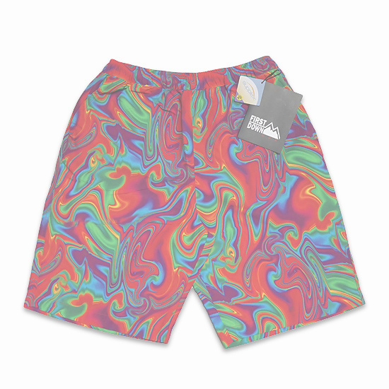 FIRST DOWN ハーフパンツ -COZYSHORTS / MARBLE-