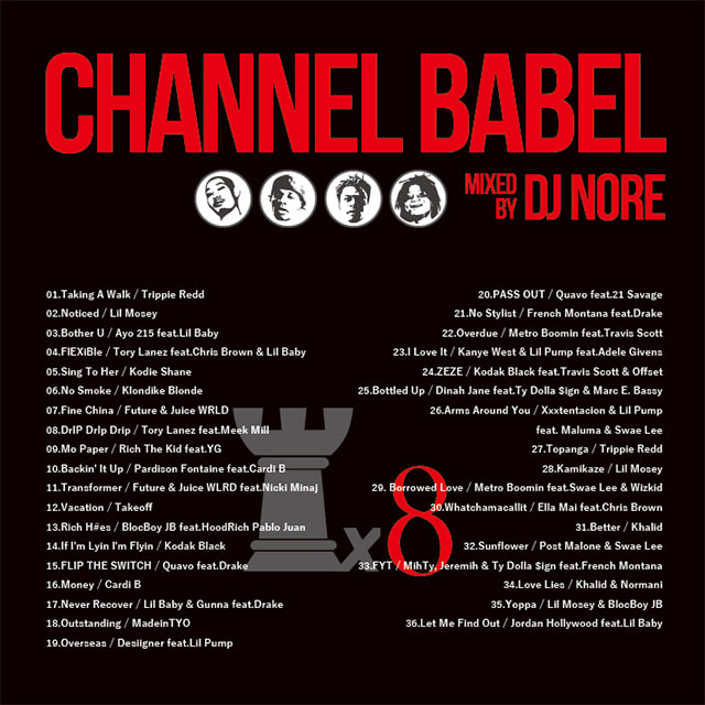 DJ NORE / CHANNEL BABEL8