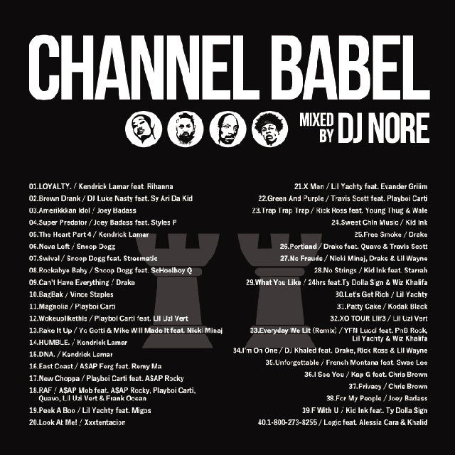 DJ NORE / CHANNEL BABEL2