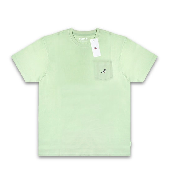 STAPLE Tシャツ - MINI LOGO POCKET TEE / SEAFOAM -