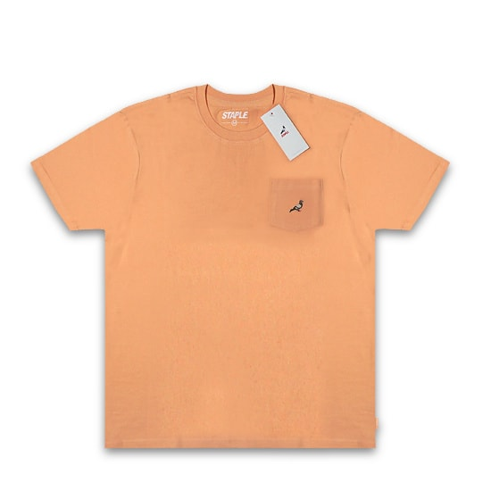 STAPLE Tシャツ - MINI LOGO POCKET TEE / PEACH -